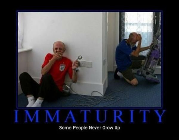 Immaturity - funnypictures.me