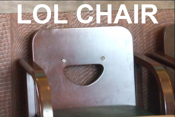 LOL Chair - Funny pictures