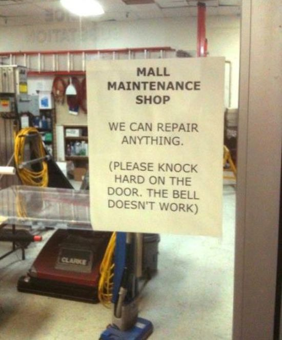 They Can Repair Almost Anything - Funny pictures
