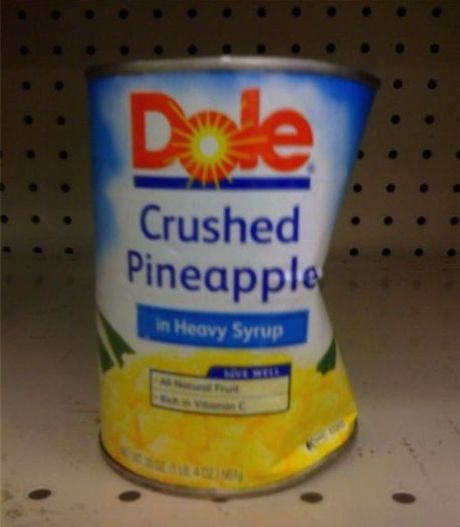 Crushed pineapple - Funny pictures