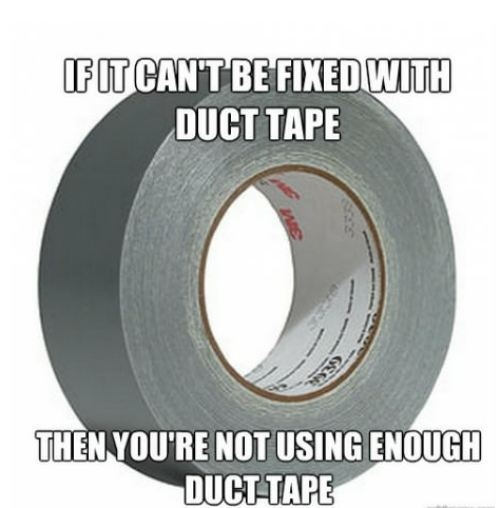 Duct Tape - Funny Pictures