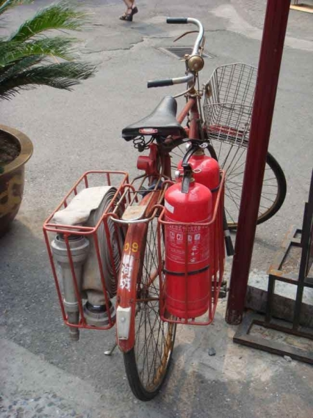 Fire bike - Funny pictures
