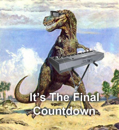 Final countdown - Funny pictures