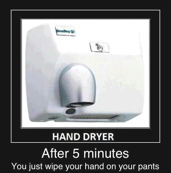 Hand dryer - Funny pictures