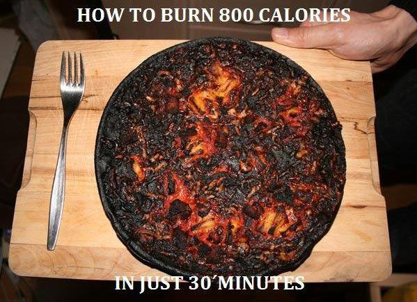 How To Burn 800 Calories - Funny pictures