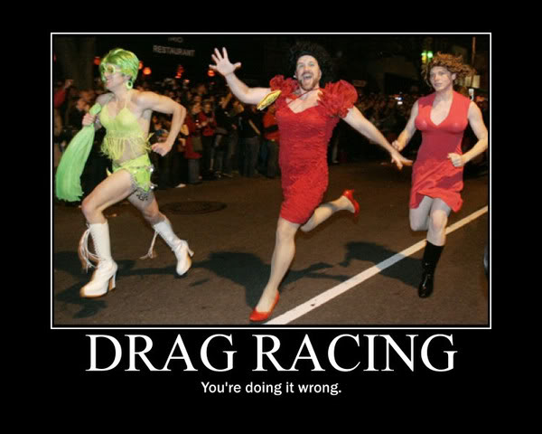 Drag racing - Funny pictures
