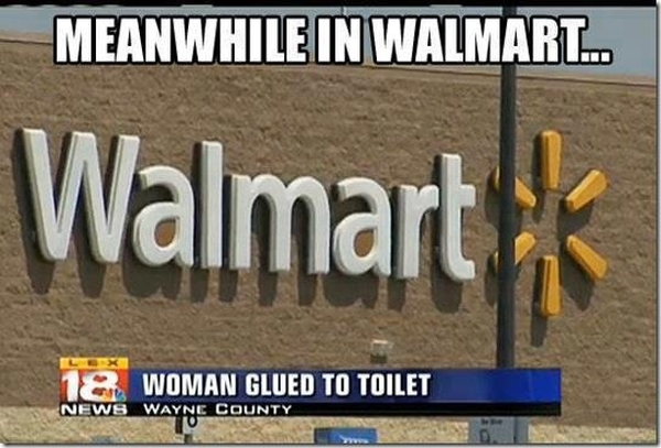 Menawhile in walmart - Funny pictures