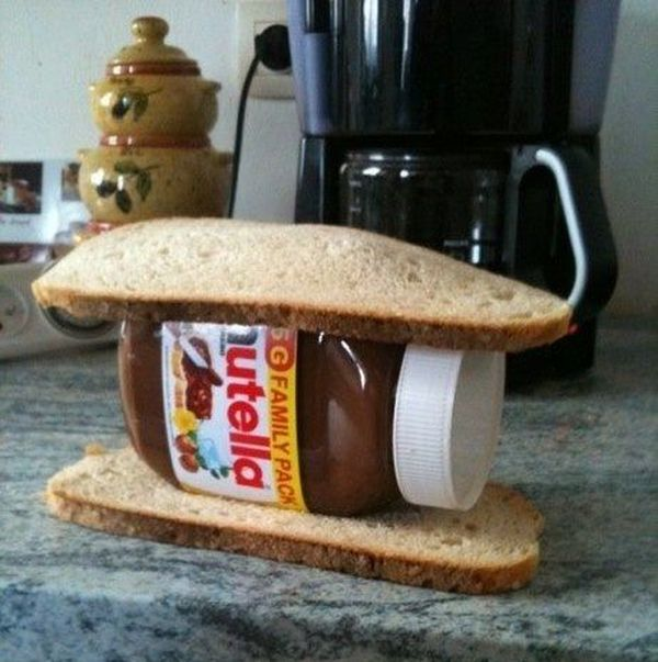 Nutella youre doing it wrong - Funny pictures