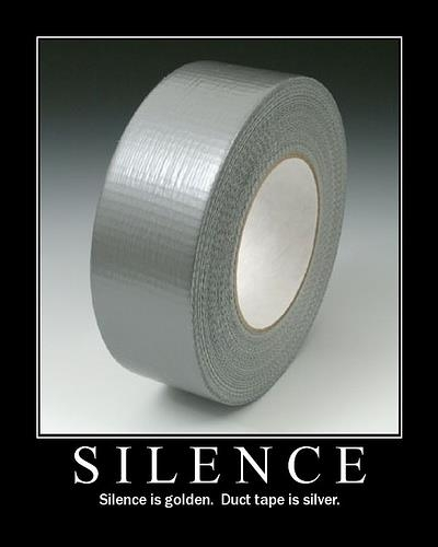 Silence - Funny pictures