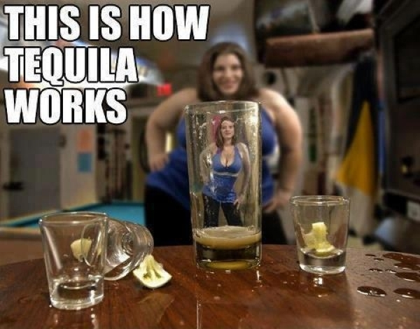 How tequila works - Funny pictures