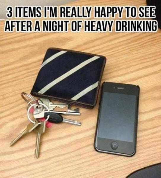3 Items I'm Really Happy To See After a Night Out - Funny pictures