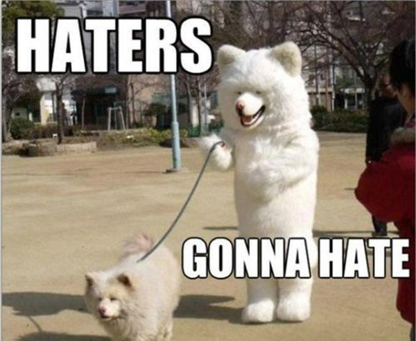 Hatters Gonna Hate - Funny pictures