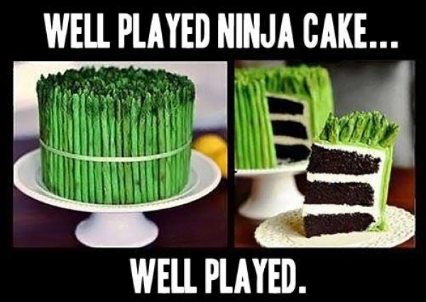 Ninja Cake - Funny pictures