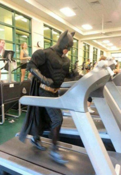 Run Batman! Run! - Funny pictures