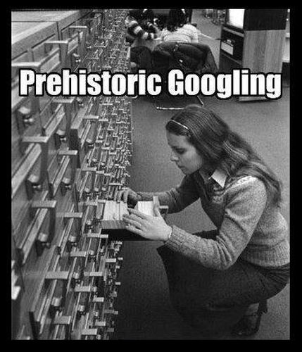 Prehistoric Googling - Funny pictures