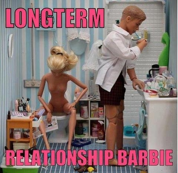 Long Term Relationship Barbie - Funny pictures