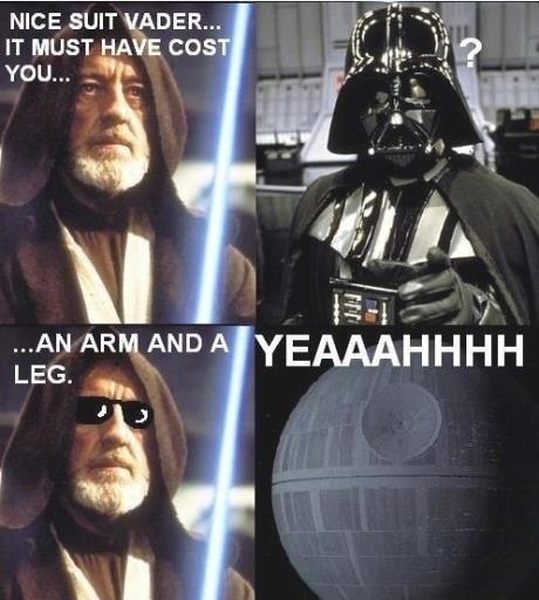 Nice Suit Vader - Funny pictures