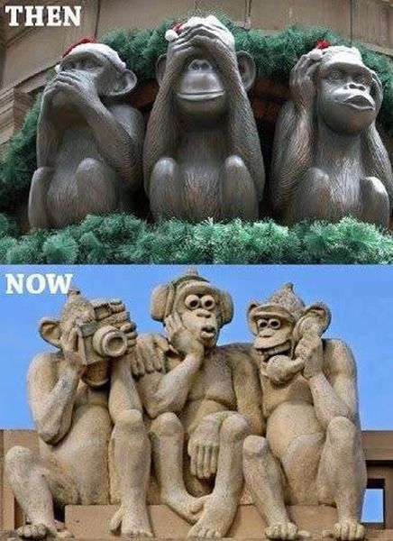 Then And Now - Funny pictures