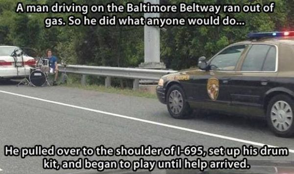 Meanwhile On A Highway - Funny pictures