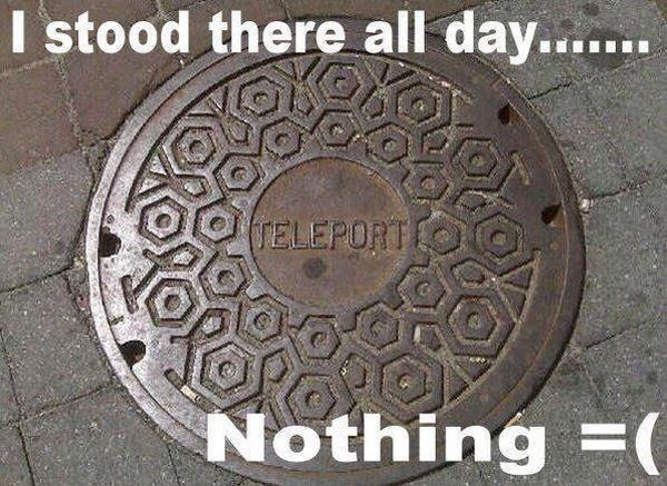 Teleport - Funny pictures