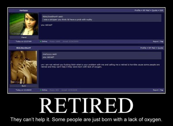 Retired - Funny pictures