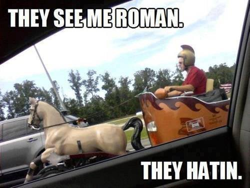 They See Me Roman - Funny pictures