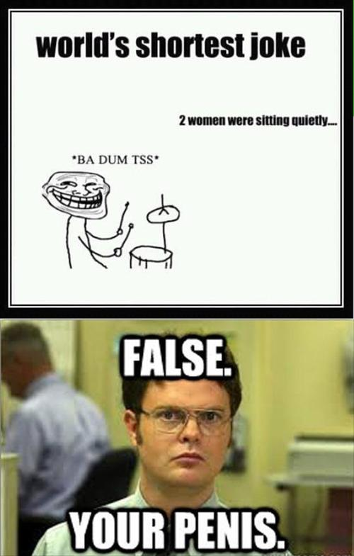 World's Shortest Joke - Funny pictures