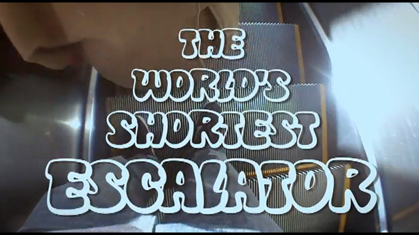 World's Shortest Escalator - Funny picutres