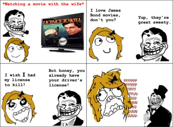 Licence To Kill - Funny pictures