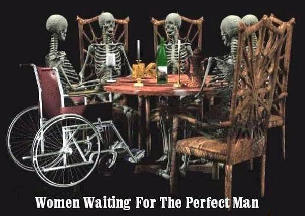 Women Waiting For The Perfect Man - Funny pictures