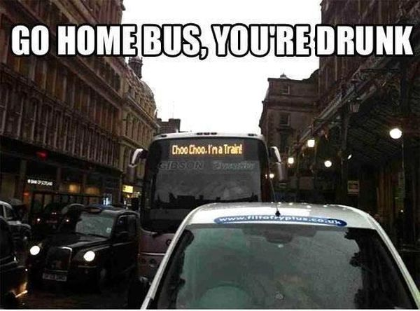 Go Home Bus! - Funny pictures