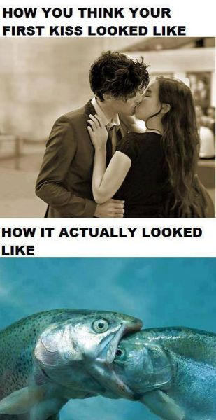 First Kiss - Funny pictures