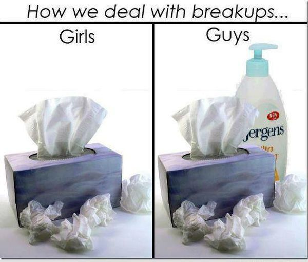 How We Deal With Breakups - Funny pictures