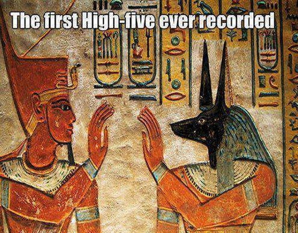 First High Five - Funny pictures