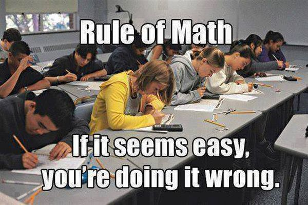 Rule Of Math - Funny pictures