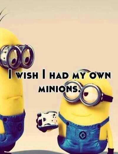 I Wish I Had My Own Minions - Funny pictures