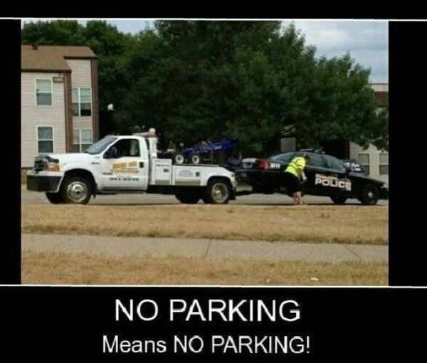 No Parking - Funny pictures