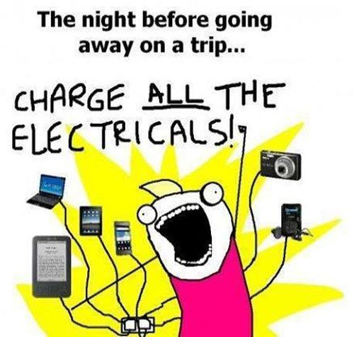 The Night Before Going Away On A Trip - Funny pictures