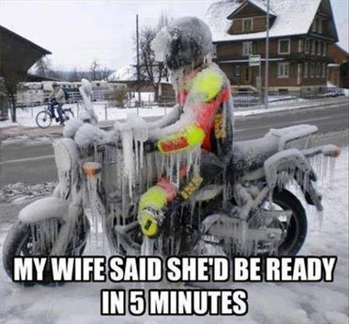 My Wife Said She'd Be Ready In 5 Minutes - Funny pictures