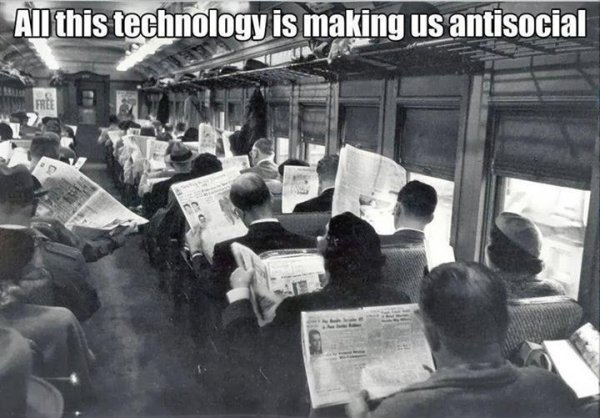 Don't Blame Technology - Funny pictures