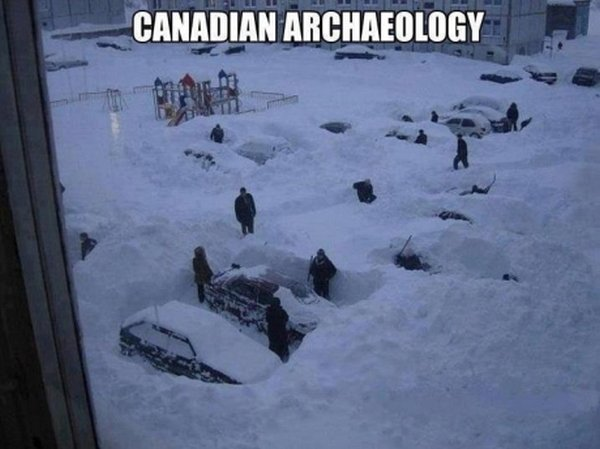 Canadian Archaeology - Funny pictures