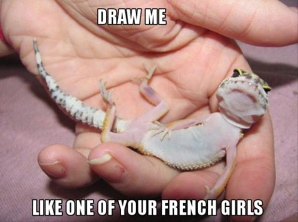Draw Me Like One of Your French Girls - Funny pictures
