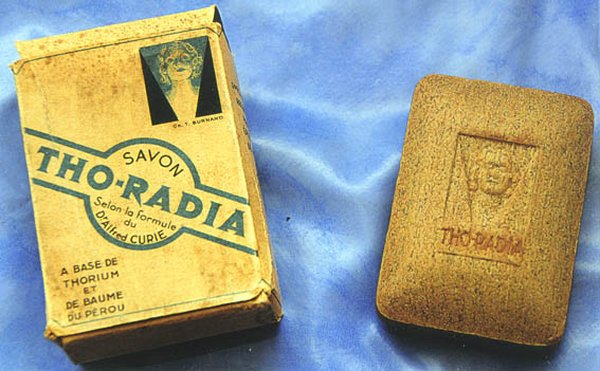 Radioactive products from past - Radium Soap