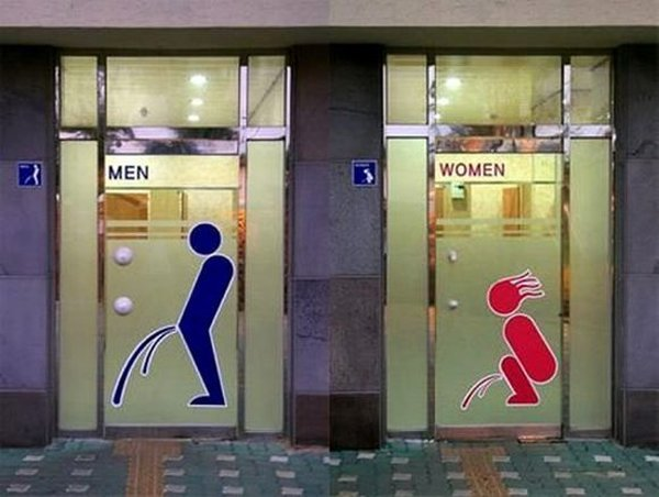 Funny And Creative Toilet Signs - Funny pictures