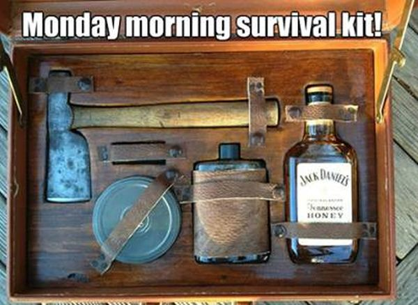Monday Morning Survival Kit - Funny pictures