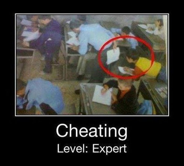 Cheating Level Expert - Funny pictures