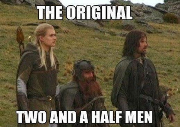 The Original Two And A Half Man - Funny pictures