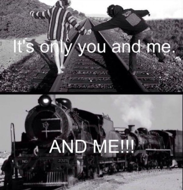 It's Only You And Me - Funny pictures