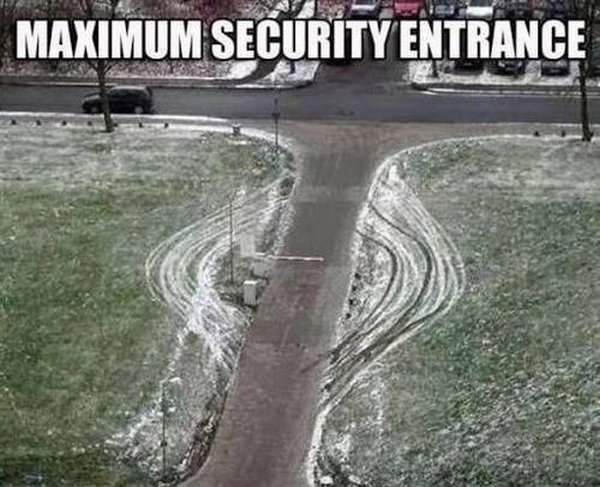 Maximum Security Entrance - Funny pictures
