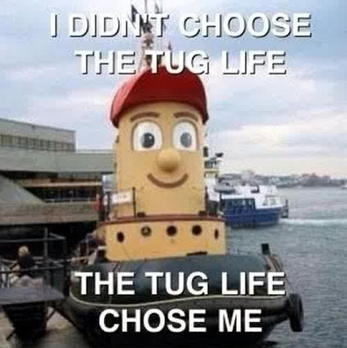 Funny boats - Tug life - Funny pictures